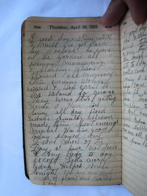 Thursday, April 26, 1923